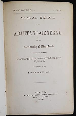 Annual Report of the Adjutant-General of the Commonwealth of Massachusetts, with Reports from the ...