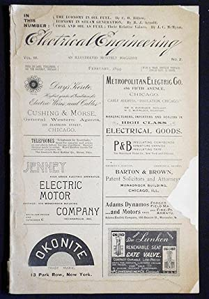 Electrical Engineering: An Illustrated Monthly Magazine -- Vol. 3 No. 2 -- Feb. 1894