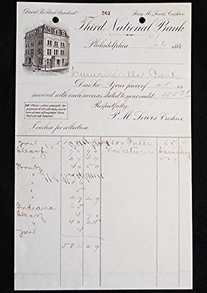 Third National Bank of Philadelphia letterhead