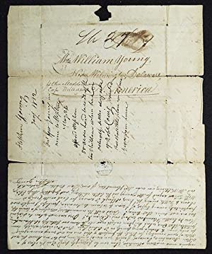 1 handwritten letter to William Young