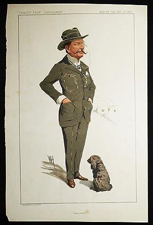 "Bisley Camp"": Lt.-Colonel Charles Robert Crosse (Men of the Day, no. 2280) -- Vanity Fair ..."
