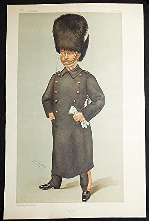 "Glick"": Count Albert Edward Wilfrid Gleichen (Men of the Day, no. 701) -- Vanity Fair, Jan. 13..."