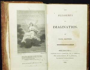 The Pleasures of Imagination by Mark Akenside [Daniel Joudon reward of merit]: Akenside, Mark