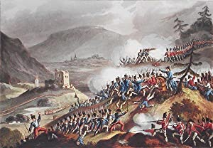 Battle of Castalla, April 13th, 1813; W. Heath delt.; T. Sutherland sculpt.