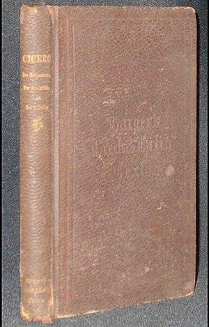 M. Tullii Ciceronis: Cato Major sive de: Cicero, Marcus Tullius