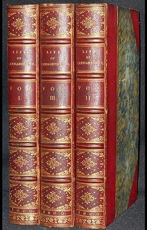 The Life of Catharine II. Empress of: Castéra, Jean-Henri; Tooke,