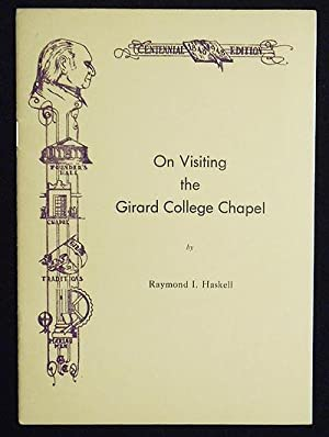 On Visiting the Girard College Chapel