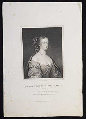 Rachael Wriothesley, Lady Russell ob. 1723; From the Original of Cooper in the Collection of His ...