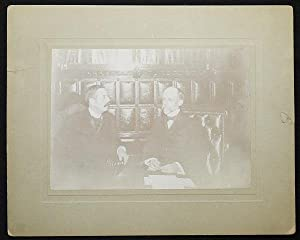 Senator Lester Hayden Humphrey and Governor Frank W. Higgins [photograph]