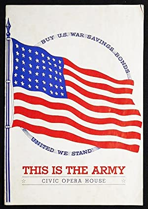 This Is the Army [program from stage performance at Civic Opera House, Chicago, Jan. 1943]