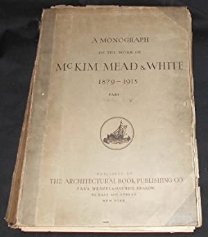A Monograph of the Work of McKim Mead & White 1879-1915 Volume Two