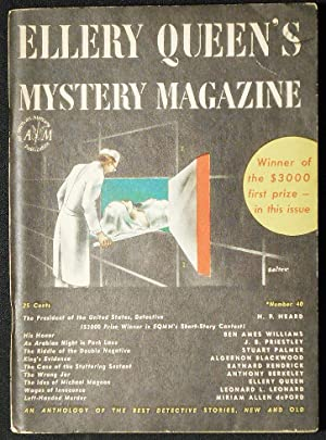 Left-Handed Murder [in Ellery Queen's Mystery Magazine vol. 9, no. 40 March 1947]
