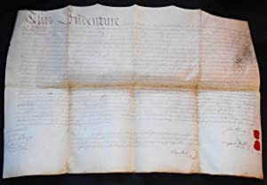 Vellum deed for properties in the City of Philadelphia and the Northern Liberties sold by John Kl...