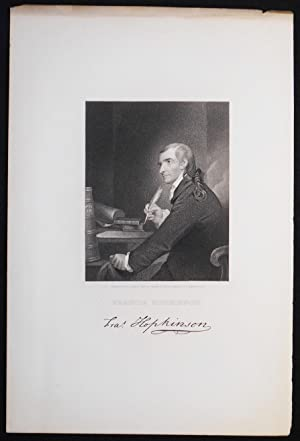 Francis Hopkinson; Engraved by J. B. Longacre from the Painting by Pine in possession of J. Hopki...