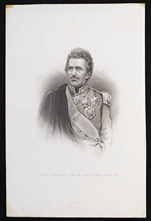 Lieut General Sir De Lacy Evans, K.C.B. &c.; From a Dag. by Claudet; W.J. Edwards