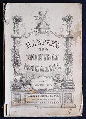 Harper's New Monthly Magazine volume 73, no. 437 Oct. 1886