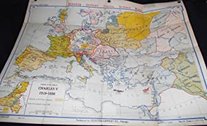 Europe at the Time of Charles V 1519-1556 (Denoyer-Geppert New Social Science Map H9) by Samuel B...
