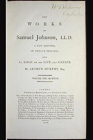 The Works of Samuel Johnson, LL.D.: Johnson, Samuel