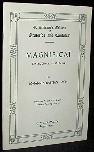 Magnificat for Soli, Chorus, and Orchestra [Magnificat,: Bach, Johann Sebastian
