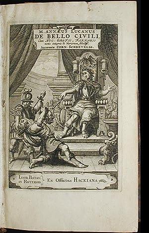 M. Annaeus Lucanus De Bello Civili, cum: Lucan