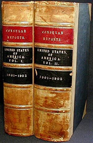 Diplomatic and Consular Reports on the United States [2 volumes]