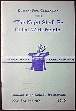 "Dumont Fire Companies Present ""The Night Shall Be Filled With Magic"": Harry Rouclere ..."