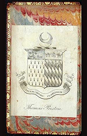 Des. Erasmi Roterod. Colloquia: nunc Emendatiora [with armorial bookplate of Thomas Preston]: ...