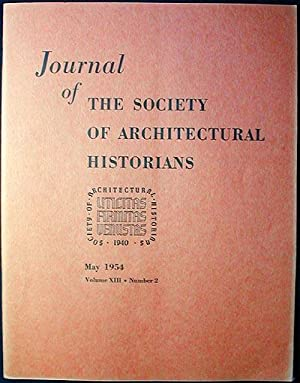 Journal of the Society of Architectural Historians: Kimball, Fiske; Zelinsky,
