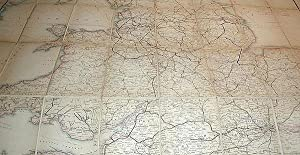 Cheffins's Map of the Railways in Great Britain: From the Ordnance Surveys: Cheffins, Charles ...
