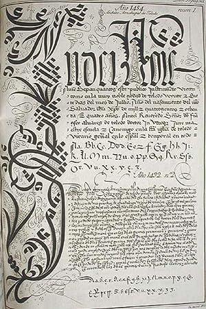Escuela Paleographica, ó de Leer Letras Antiguas, desde la Entrada de los Godos en Espan&...