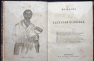 Memoirs of Elleanor Eldridge: Green, Frances H.