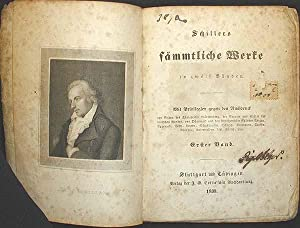 Schillers Sämmtliche Werke in Zwölf Bänden: Schiller, Friedrich