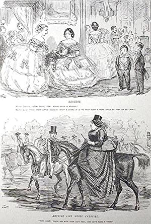 """John Leech's Pictures of Life and Character: From the Collection of """"Mr. Punch"""""""