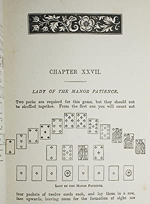 Games of Patience for One or More Player by Miss Whitmore Jones; Illustrated [1st, 2nd, and 3rd ...