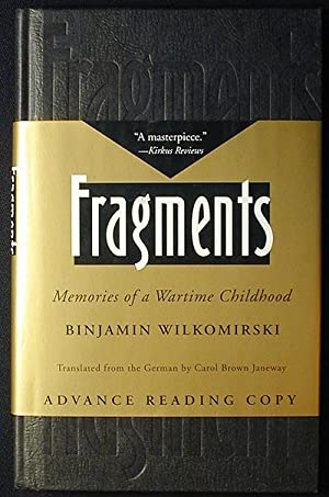 Fragments: Memories of a Wartime Childhood; Translated from the German by Carol Brown Janeway [Ad...