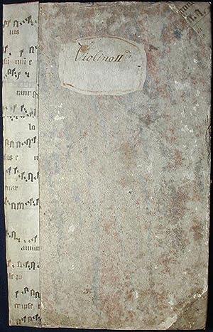 Sex Missae Breves: opus xvii [2nd violin part]: Dreyer, Johann Melchior