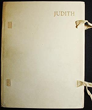 Judith; reprinted from the Revised Version of the Apocrypha with an Introduction by Montague R. J...
