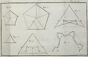 Elemens de Fortification, Contenant les principes & la description raisonnée des différens ...