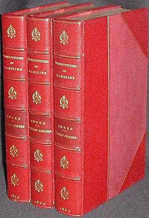 Vicissitudes of Families, and Other Essays [1st, 2nd, & 3rd series] [provenance: Joel Cheney Wells]