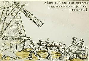 Viens Pats; A. Kronenberga ilustracijas: Rainis [Janis Plieksans]