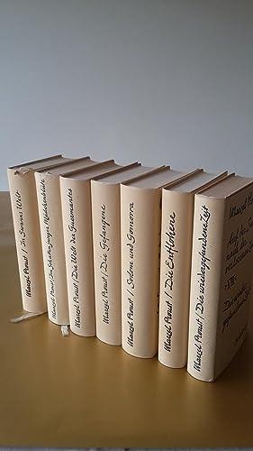 Marcel Proust. Auf der Suche nach der: Der Romanzyklus: In