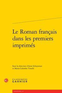 Le Roman français dans les premiers imprimés: Collectif]