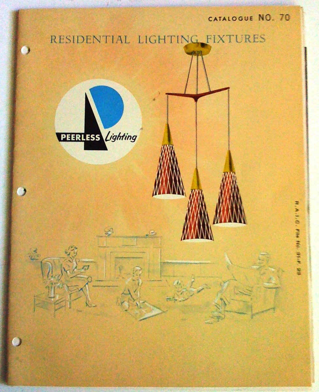 Residential lighting fixtures peerless lighting catalogue no 70