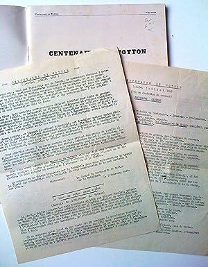 1849-1949. Centenaire de Wotton. Album souvenir