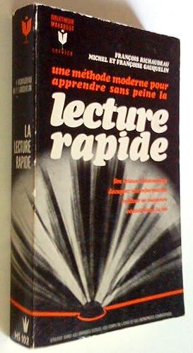 Une méthode moderne pour apprendre sans peine: Richaudeau, François et