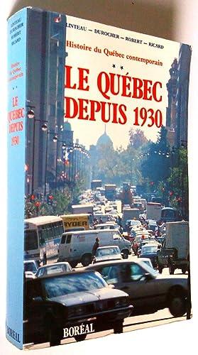 Histoire du Québec contemporain. Tome 1 De: Paul-André Linteau, René