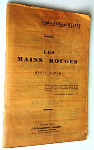 Les mains rouges. Radio-roman