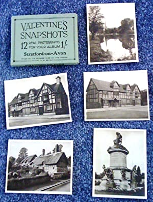 Valentine's Snapshots. 12 Real Photographs for your album. Stratford-on-Avon (12 photos dans une ...