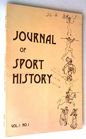 Journal of Sport History, vol. 1, no