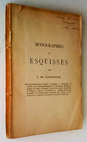 Monographies et esquisses